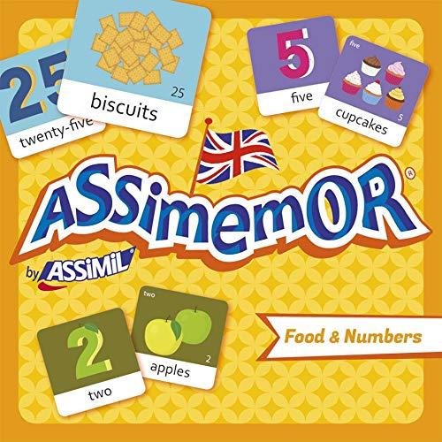 Assimemor Food & Numbers: Das kinderleichte Englisch-Gedächtnisspiel von ASSiMiL