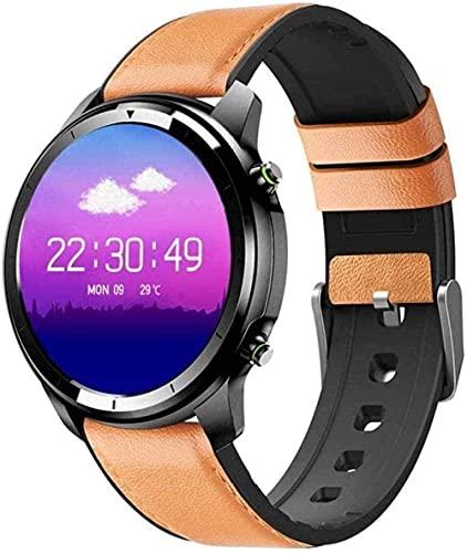 Reloj inteligente Ip68 resistente al agua con podómetro deportivo y monitor de sueño de presión arterial para mujeres y hombres Exquisite-E-B-C