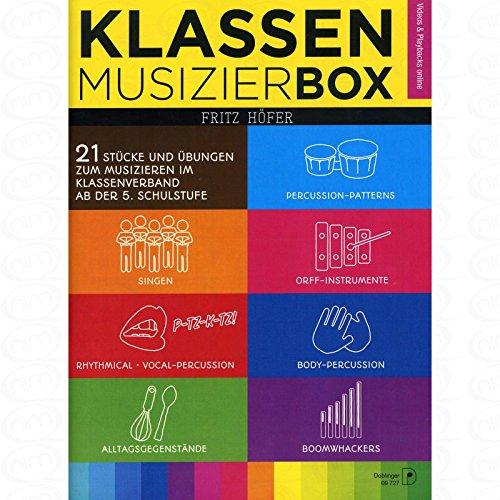 Klassenmusizierbox - arrangiert für Ensemble [Noten/Sheetmusic] Komponist : Hoefer Fritz