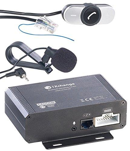 Callstel Bluetooth Adapter Auto: Autoradio-Freisprecher & Streaming-Empfänger, Bluetooth zum Nachrüsten (Bluetooth nachrüsten Auto)