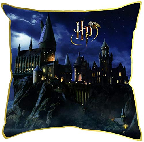 Harry Potter Kinder Zauberer Kissen Hogwarts 30 x 30 cm, bunt
