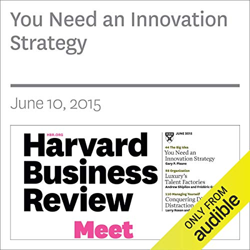 You Need an Innovation Strategy copertina
