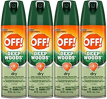 4-Pack OFF! Deep Woods Insect & Mosquito Repellent VIII
