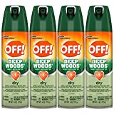 OFF! Deep Woods Insect & Mosquito Repellent VIII, DryTouch Technology, Long Lasting Protection 4 oz....