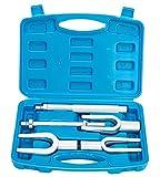 FreeTec Extractor de Junta de Rótula Kit 5 Piezas Separador de rótulas tipo tenedor