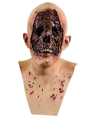 Máscara de piel quemada adulto Halloween