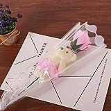 NIANMEI Handmade Lovely Stitch Teddybär Plüschtiere Mit Seife Blumen Herzform Geschenkbox Kreative...