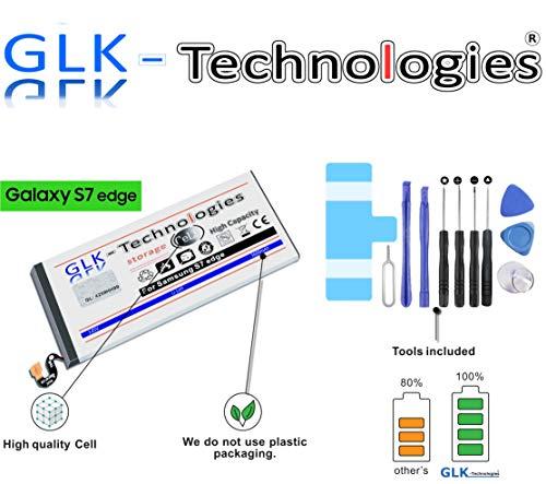 High Power Ersatzakku Samsung Galaxy S7 Edge SM-G935F | Original GLK-Technologies Battery | accu | 3600 mAh | ersetzt EB-BG935ABE inkl. Werkzeug Set Kit 2020 B.j