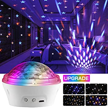 Aplos LED Starry Light Projector with 4 Modes and Timer Setting