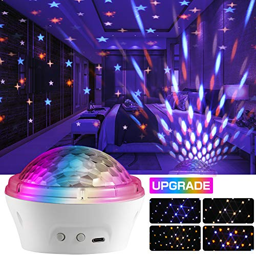 Star Projector Night Light,APLOS LED Starry Light Projector with 4 Modes and Timer Setting,Best Gift for Baby Children Adults,Bedroom Living Room Party Decoration