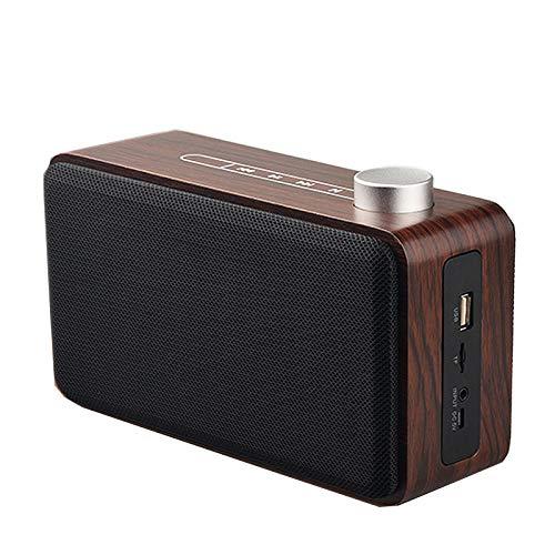 JHMAOYI Lautsprecher Kreative Drahtlose Bluetooth Lautsprecher Neue Multifunktionale U Disk Holz Home Subwoofer Lautsprecher.