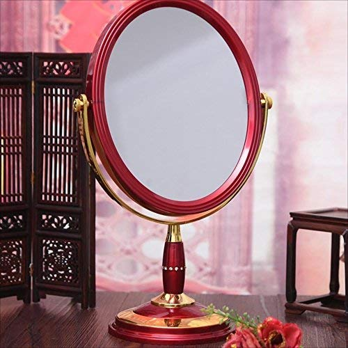 DCLINA Espejo Maquillaje para Mujer, Espejo Maquillaje Doble Cara Escritorio, Espejo portátil