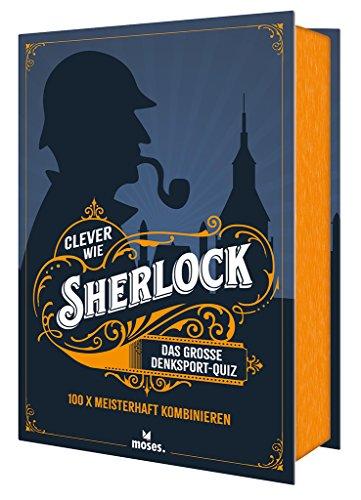 Clever wie Sherlock: Das große Denksport-Quiz (Quiz-Boxen)
