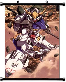 Mobile Suit Gundam Iron Blooded Orphans Anime Fabric Wall Scroll Poster (16x27) Inches