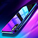 Color Dreams Smart Products iPhone x hülle blau Silikon Gradient iPhone x hüllen handyhülle...