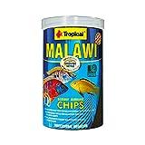 Tropicales Malawi Mbuna Chips Especial para Malawi hundiéndose Lentamente - Alimentos Multi-Ingredientes para la alimentación Diaria 250ml/130g