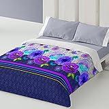 Burrito Blanco - Funda nórdica 330 Azul de cama de 90x190/200 cm