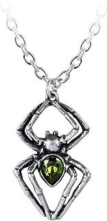 Alchemy Gothic England - Emerald Spiderling Spider Pendant
