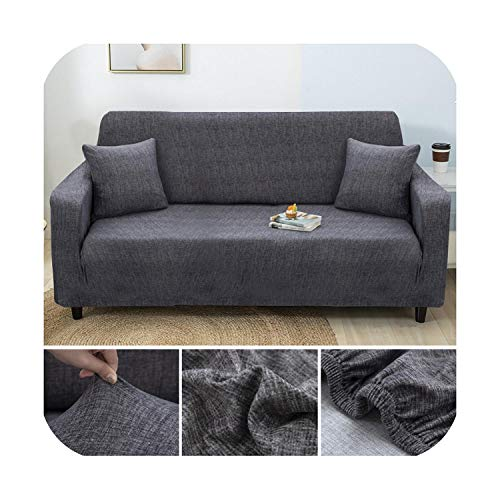 sofa cover Cross Stripped Stretch Slipcovers Elastic Fully-wrap Anti-dust for Living Room Couch Cover Armchair Cover Sofa Towel-Color 9-1-seat 90-140cm