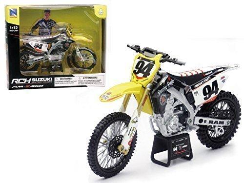 Suzuki RM-Z 450 #94 Ken Roczen Motorrad Modell 1/12 von New Ray 57747, Modell Spielzeug & Gaems