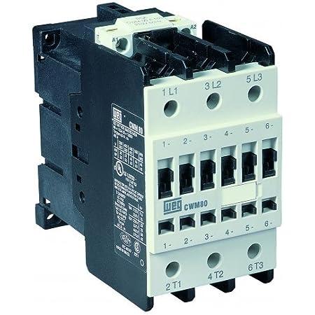 IEC Contactor WEG Electric CWM18-10-30V24 3-Pole 18 Amps 208-240VAC Coil