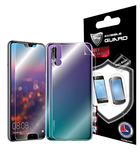 IPG for Huawei P20 PRO 6.1' Full Body Protector Invisible Ultra HD Clear Film Anti Scratch Skin Guard - Smooth/Self-Healing/Bubble -Free Scren & Back by