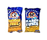 Any Capp's Flavored Fries Variety Pack, 3 oz, 2 Pack - Ranch Fries, Cheddar Fries