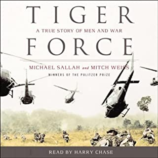 Tiger Force audiobook cover art