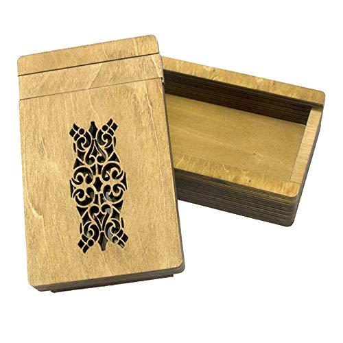 Colcolo Caja de Rompecabezas Mágica de Madera, Rompecabezas, Prueba de Coeficiente Intelectual, Cerradura Secreta, Juguete de Rompecabezas