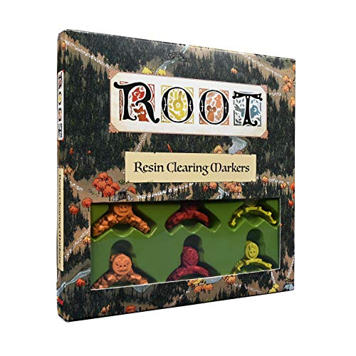 Leder Games Root: Resin Clearing Markers,, LED01006