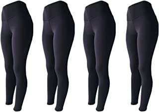 KIT 4 Legging Fitness Suplex Lisa ou Estampada