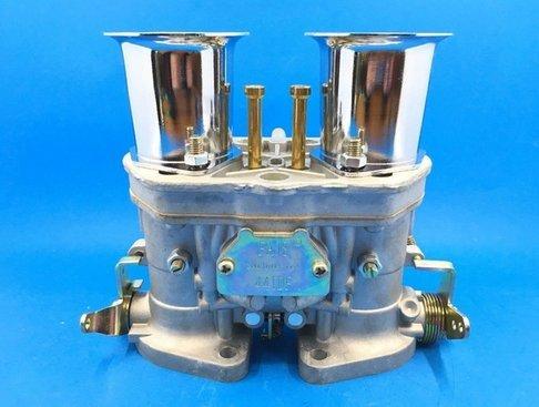 GOWE Carburador para 2 piezas / lote nuevo 44 IDF 44IDF Carburador OEM + bocinas de aire de repuesto para Solex Dellorto Weber EMPI