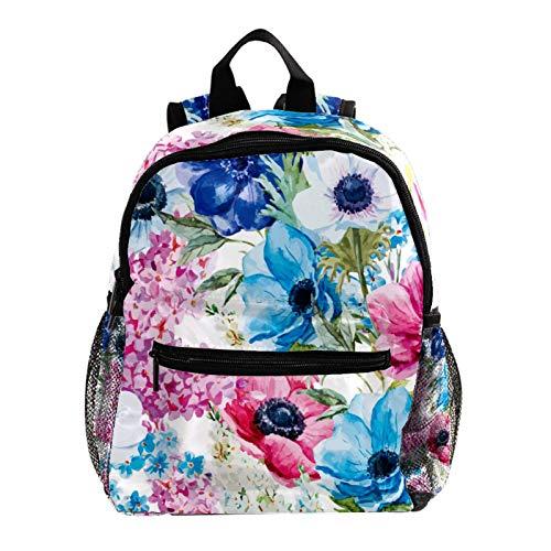 Mochila escolar ligera, mochila de viaje, campamento al aire libre, acuarela, planta tropical piña