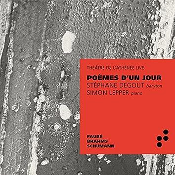Poème d'un jour (Live at Théâtre de l'Athénée)