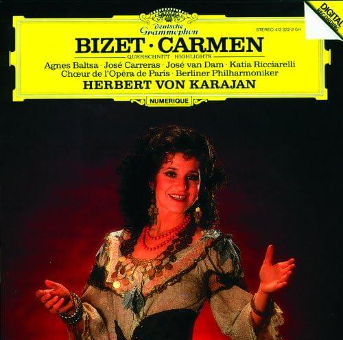 Agnes Baltsa, José Carreras, Katia Ricciarelli, José van Dam, Opera Chorus Of Paris, Berliner Philharmoniker, Herbert von Karajan & Georges Bizet