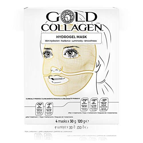 Gold Collagen Hydrogel Mask 120g (4 x 30g)