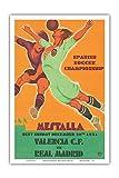 Formo C.1931 Poster, Motiv: Spanische Fußballmeisterschaft