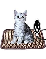 ペット用 ホットカーペット ペットヒーター 猫 犬用 猫マット 犬マット ホットマットヒーター 小動物対応 防寒用具 寒さ対策 3段階温度調節 タイミング機能 過熱保護 サイズ60x40cm