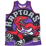 Mitchell & Ness Toronto Raptors Lilac Big Face Jersey Swingman NBA HWC Basketball Trikot