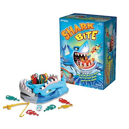 Shark Bite -- Roll the Die and Fish for Colorful Sea Creatures Before the Shark Bites Game!