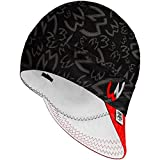 Welder Nation 8 Panel Soft, Light Weight Cotton Welding Cap, Durable for Safety and Protection While Welding. Stick ARC. The Hostile Black Red