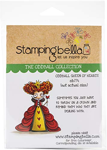Stamping Bella Cling Stamps-Oddball Queen of Hearts
