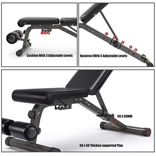 FEIERDUN Adjustable Weight Bench