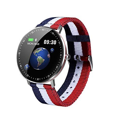 HQHOME Fitness Armband, Smartwatch Wasserdicht IP68, Fitness Armband mit Pulsmesser, Voller Touchscreen Farbbildschirm Aktivitätstracker Pulsuhren Schrittzähler Uhr Smart Watch Fitness Uhr