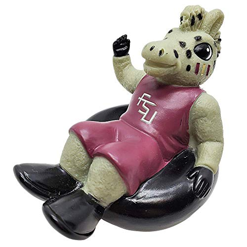 Rubber Tubbers Florida State University - Premium Bath Toy Collectible Sports Memorabilia - First Ever Collectible Line of Licensed Floating Collegiate Mascots (Florida State Seminoles | Cimarron)