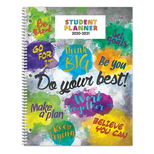 Dated Elementary Student Planner for 2020-21