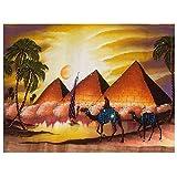 Cuadros Diamantes 5D - Cuadrado Completo Redondo 5D Pintura De Diamante - Pirámides Egipcias Bordado Camel Diamantes De Imitación Mosaico Punto De Cruz Artesanía Para Decoración De Pared Moderna