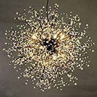 XCY 装飾照明モダンなG4Ledシャンデリア天井ペンダントライトダイニングルームリビングルームシャンデリア照明,80センチ-暖かい光