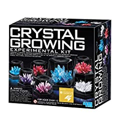 This science kit contains all the materials needed to perform seven different crystal growth experiments A special display case is included to admire the crystals once they are fully grown Perfect for young science enthusiasts, especially those with ...