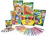 CRAYOLA Kit Álbumes Divertidos para Colorear, Actividades de Interior, Regalo para niños y niñas, Edad 3, 4, 5,